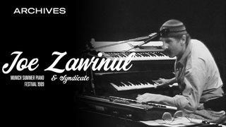 Joe Zawinul and Weather Update - Live at Munich Summer Piano